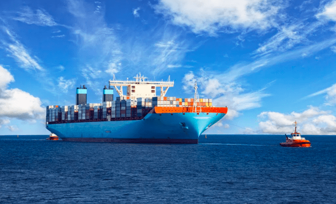 photo of a sea freight