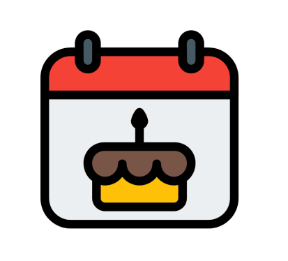 birthday calendar image