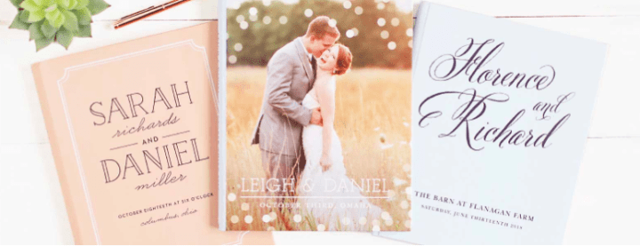 photo of Basic Invite personalized guest books