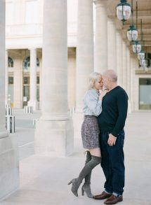 Fall Engagement In Paris Molly Carr