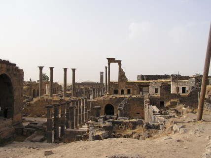 Old Roman city in Bosra