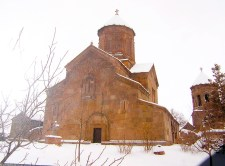 Zarzma in winter (from a postcard