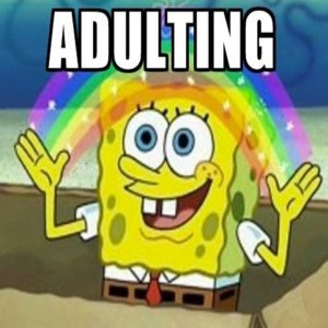 Adulting Spongebob