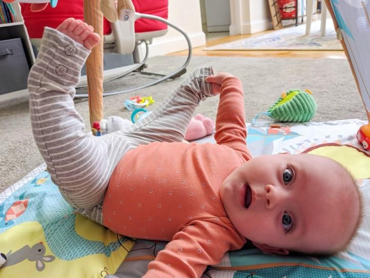 Nora Toes 22 Weeks