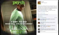 Psych Slumber Party Facebook