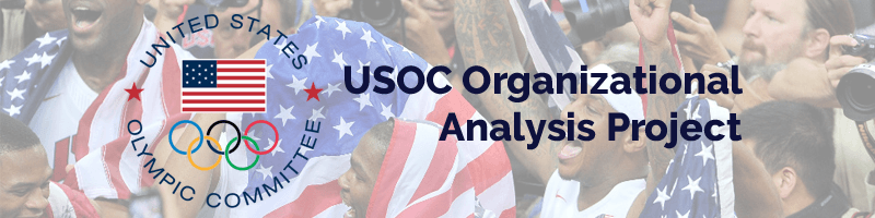 USOC Organizational Analysis, USOC, United States Olympic Committee, United States Olympic Committee Organizational Analysis