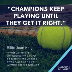 Billie Jean King - Champions