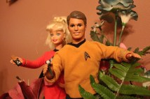 Ken and Barbie explore the mysterious jungle of Planet Fakie Planties