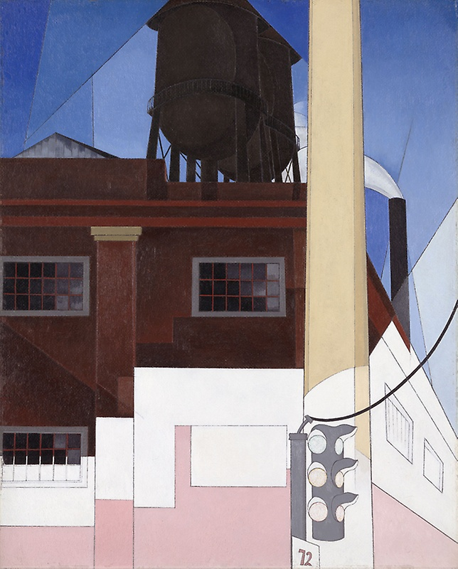 """…And Home of the Brave"" (1931) by Charles Demuth"