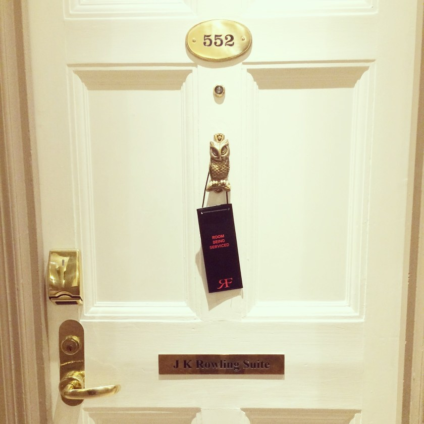 Room 522 in the Barmoral Hotel, Scotland