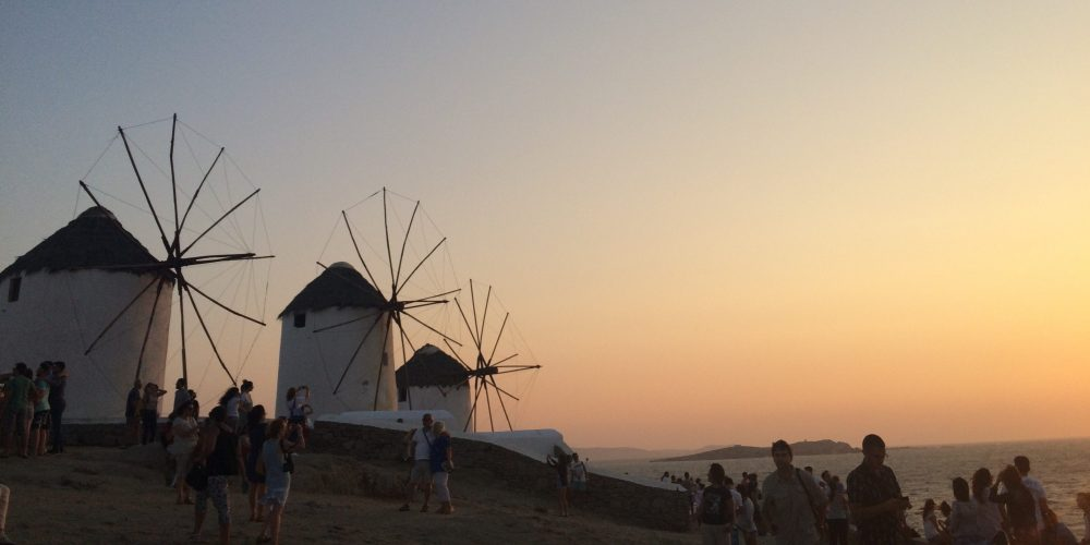 Windmills at Mykonsos