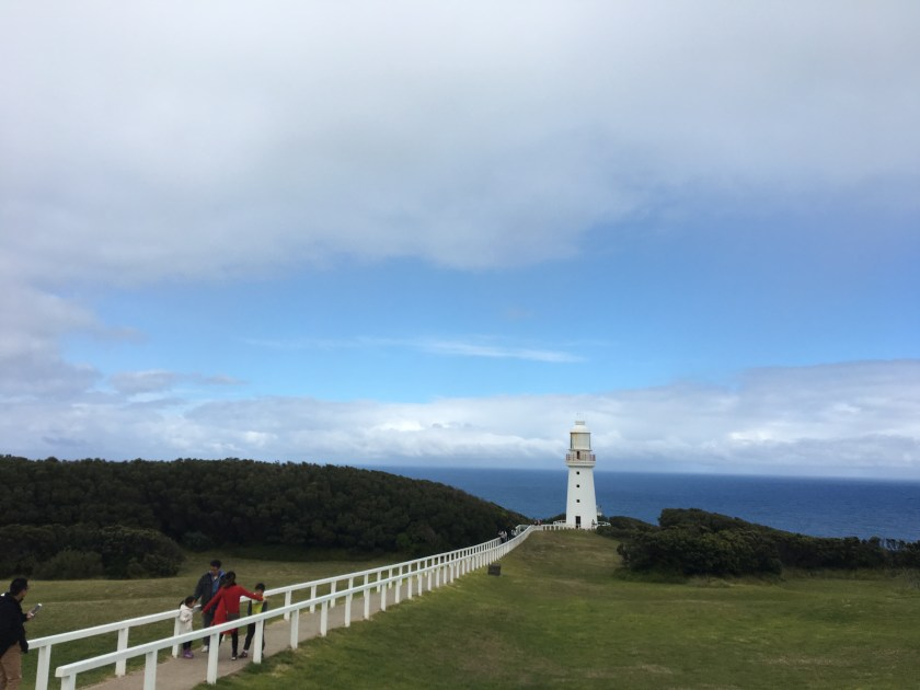 lighthouse at Otway National Park