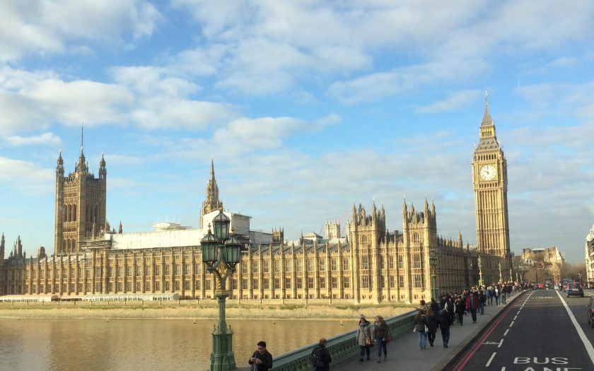 parliament and big ben in london england