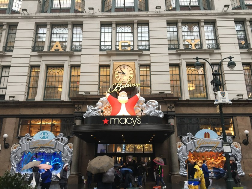christmas at macys in new york city