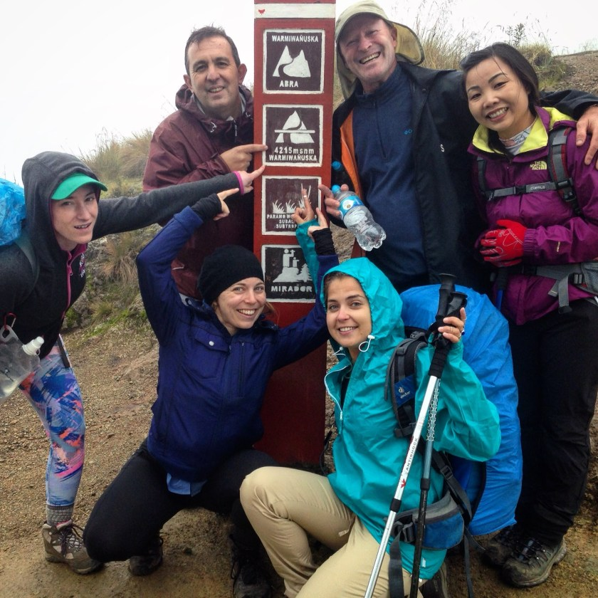 dead womans pass on the inca trail
