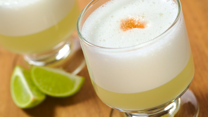 Food in Peru: Pisco Sour