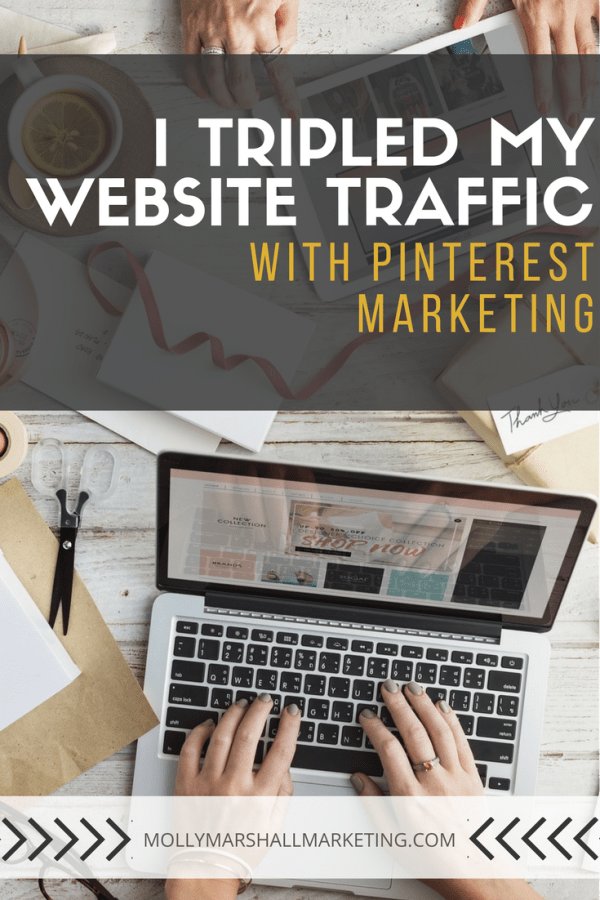 I Tripled My Website Traffic With Pinterest Marketing Instagram Marketing Tips And Social