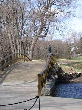 The North Bridge, Concord MA