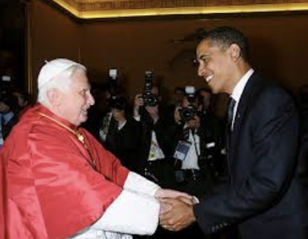 What Happened at the First Meeting between the President of Hope and the Present Pope??