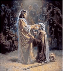 picture of jesus in ministry of healing