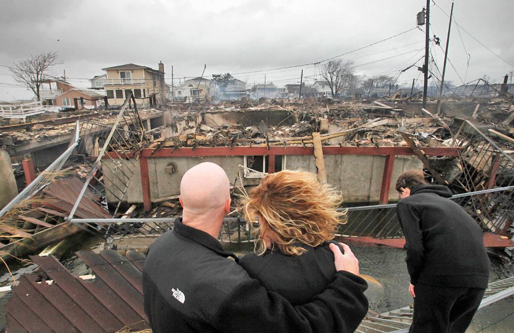 Hurricane Sandy fulfilling prophecy