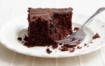 No, it's not chocolate – it's Carob Cake!!!
