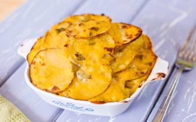 """""""Cheesy"""" Potatoes"""
