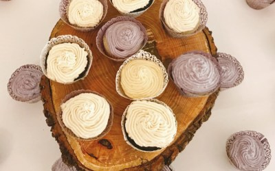 Frosted Carob Cupcakes