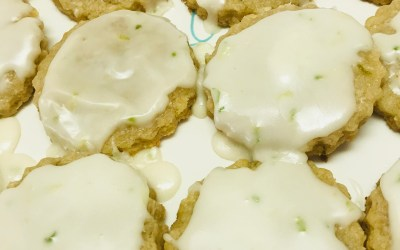 Coconut Lime Cookies