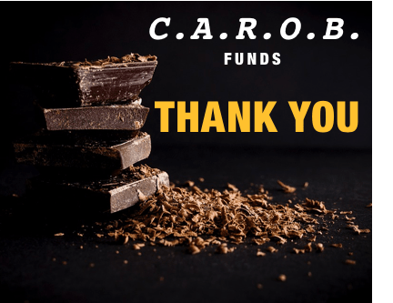 C.A.R.O.B. Funds-THANK YOU