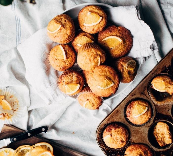 Date-Orange Nut Muffins