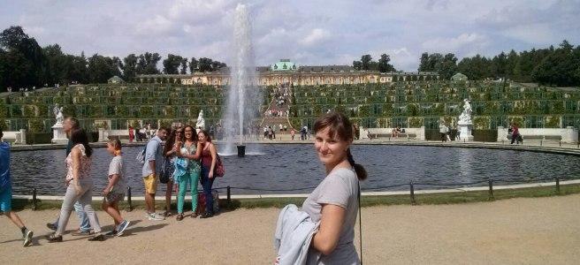 Потсдам - Виноградники старого дворца