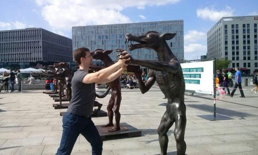 Постдам - памятник жертвам нацизма