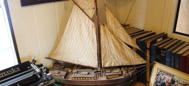 Музей Одры - кораблик на борту