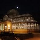 Palacio de Cristal ночью