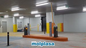 barreras de garaje accesos