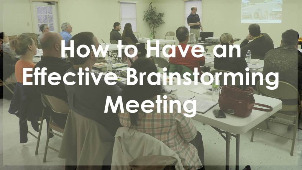 How to Brainstorm Header