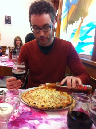 The most delicious pizza yet. We love you, Pizza Napoli