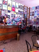 A bar full of movie posters (and delicious sandwiches)