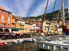 We hiked over the hill to check out the old harbour of Nice