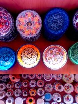 There were so many beautiful bowls! I wanted to fill my luggage with them, except my luggage was too small