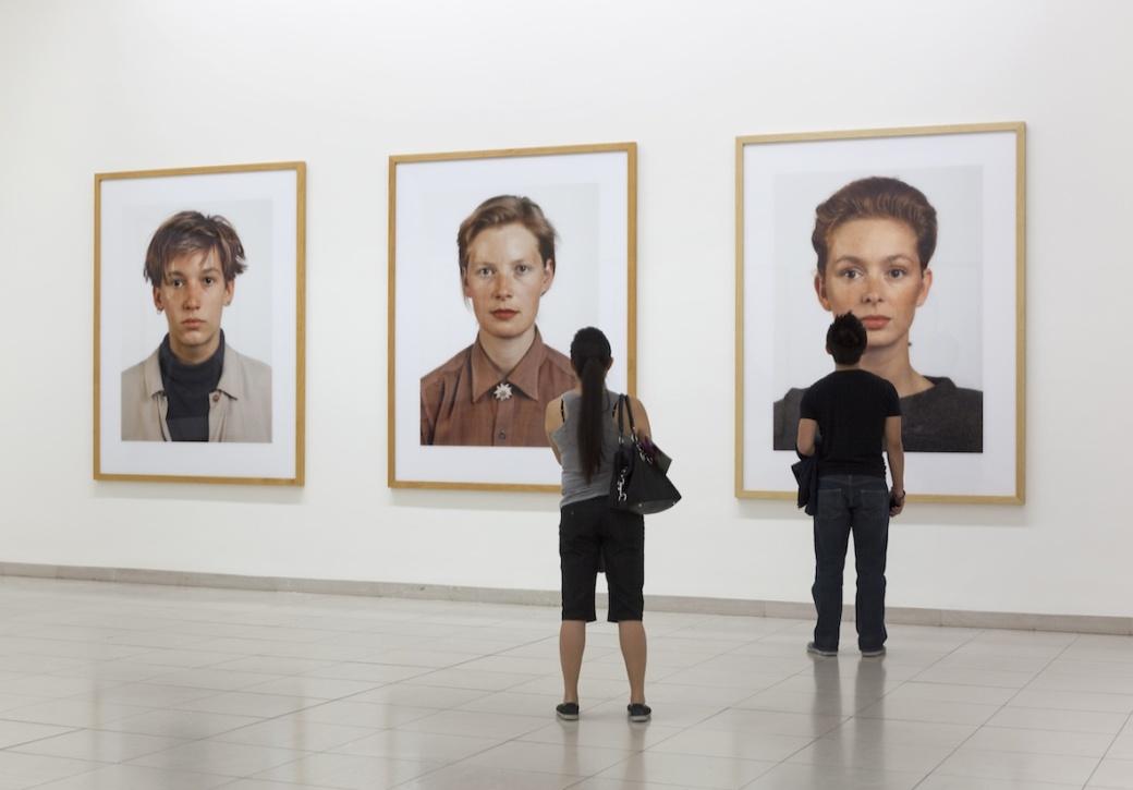 (《肖像(Portraits)》系列展览现场)