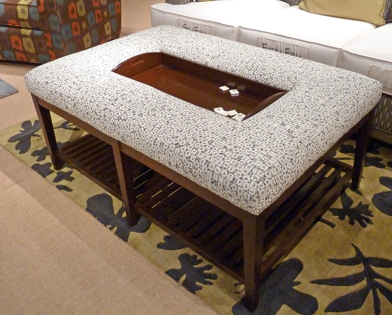 Good Softy Coffee Table Ottoman With Amazing Design For