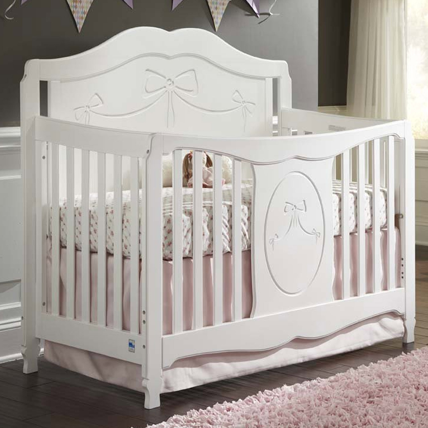 Lovely Furniture for Baby Using Romina Crib Furniture Ideas  Homeynice
