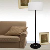 Living Room Floor Lamps - floor lamp reading antique brass ...