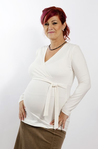 Long Sleeve Maternity Nursing Tunic