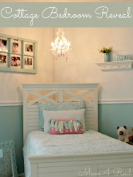 bedroom cottage reveal kate ten mom4real room rooms olds sweet mom bed decor years makeover pretty she daughter peeks sneak