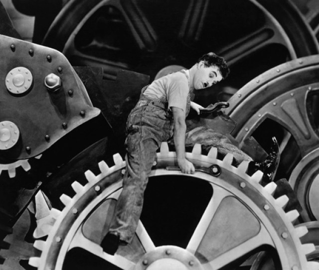 Charles Chaplins Modern Times