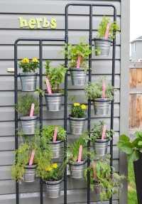 DIY Herb Garden and Garden Markers
