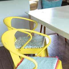 Diy Chair Cushion No Sew Excercise Ball Reversible Cushions Momadvice From Com
